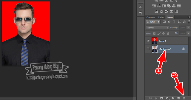hapus background
