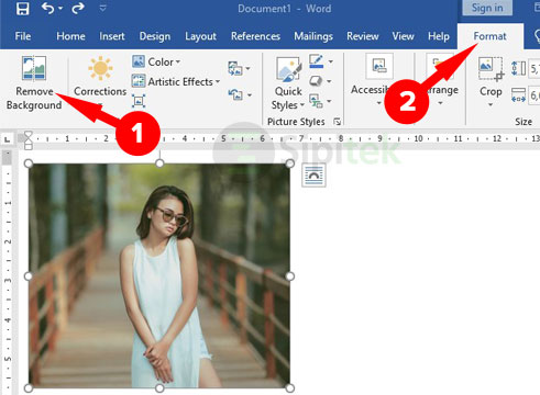 Remove Background Microsoft Word