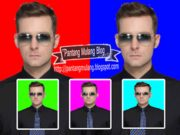 cara mengganti warna background foto di photoshop