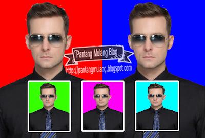 cara mengganti warna background foto di photoshop