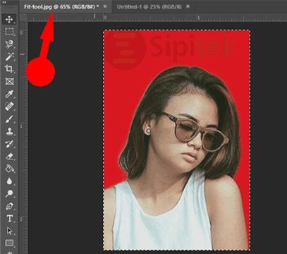 Tab Photoshop