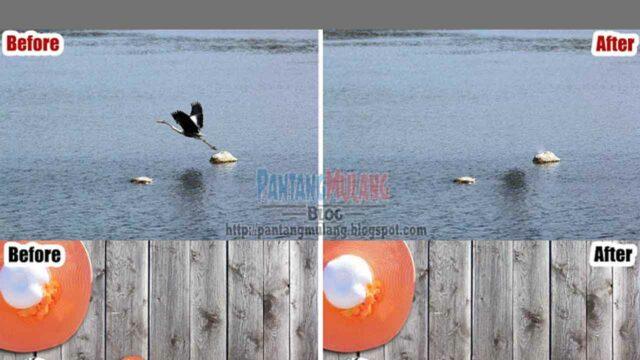 cara menghilangkan objek dengan photoshop