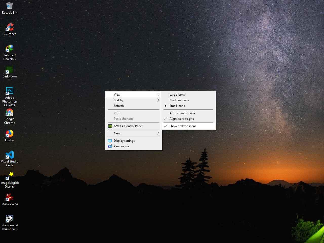 Cara Mengembalikan Ikon Desktop Shortcut yang Hilang