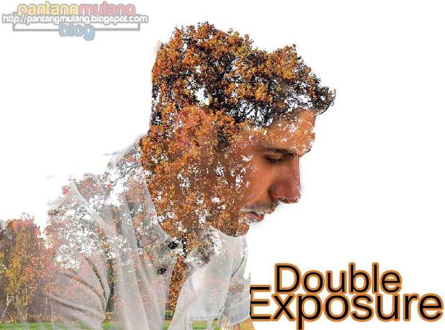 cara membuat efek double exposure