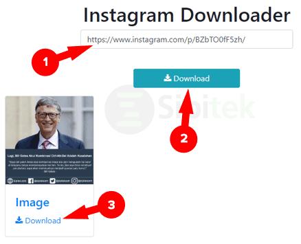 Download Foto Instagram PC 10insta