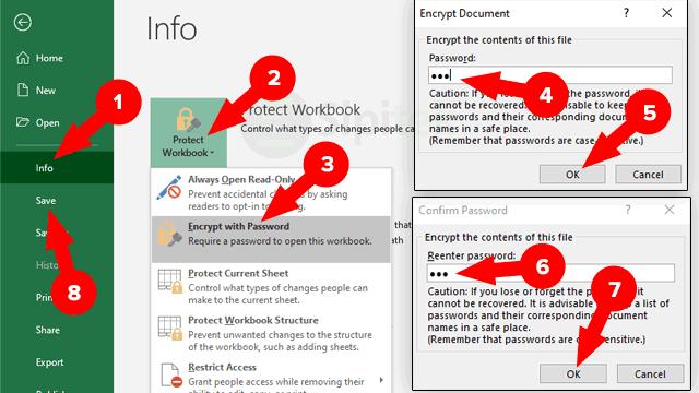 3 Cara Mengunci File Excel Agar Tidak Bisa Dicopy Dibuka Dan Diedit