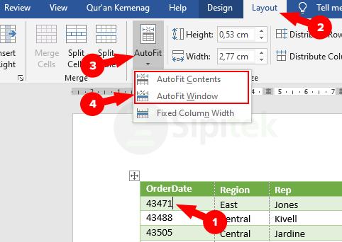 √ Cara Copy Tabel Excel ke Word dengan Rapi Tanpa Terpotong