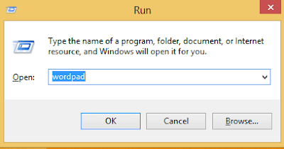 run notepad