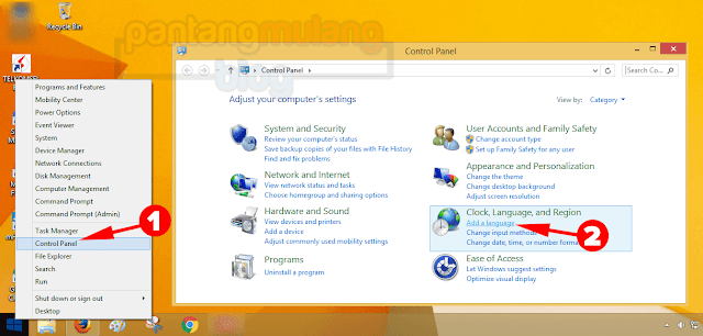 pengaturan bahasa windows