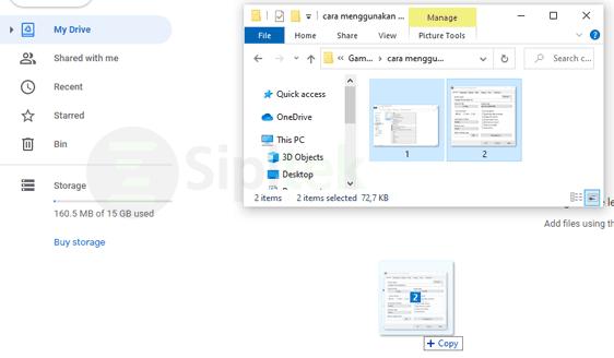 Upload File Google Drive Drag and Drop