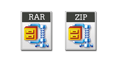 cara membuat file rar dan zip di windows