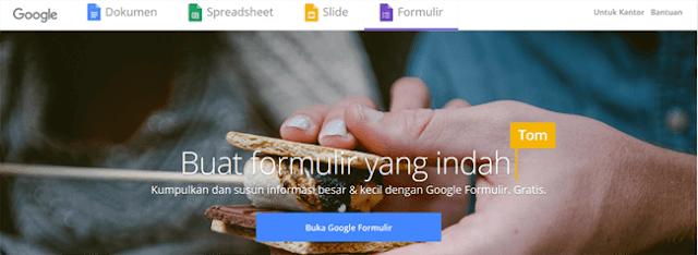 buka google formulir