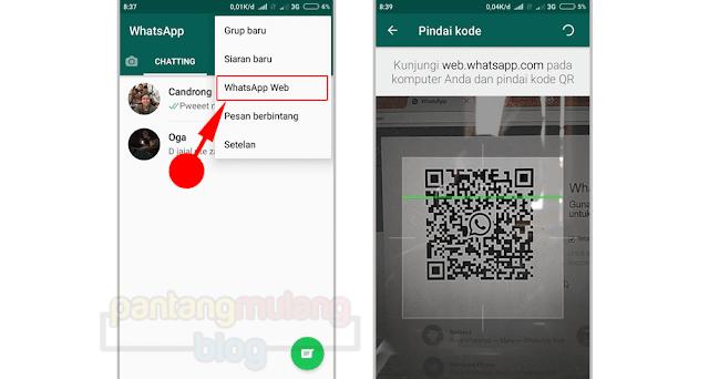 Pengaturan WhatsApp Web
