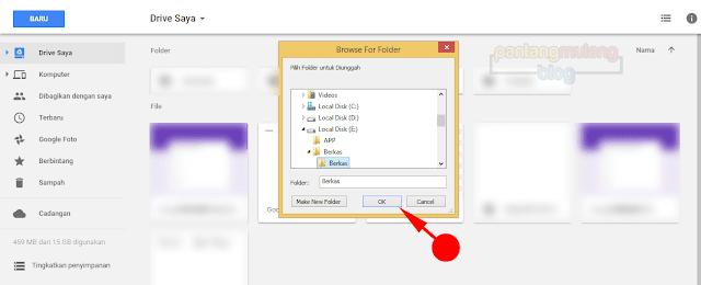 pilih folder