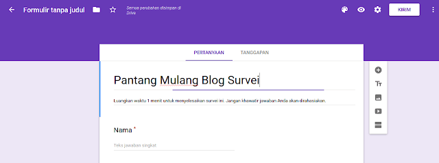 judul survei