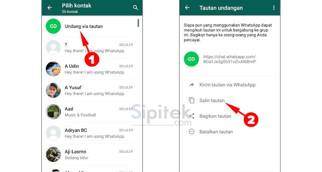 2 Cara Menambah Anggota Grup WhatsApp Tanpa Admin