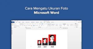Cara Membuat Ukuran Foto 4×6, 3×4, dan 2×3 di Microsoft Word