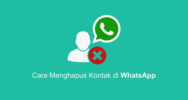 cara mengahpus kontak whatsapp