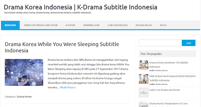 kdrama indonesia