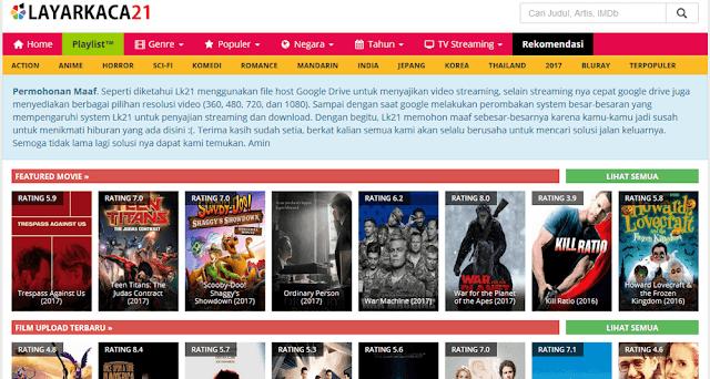 22 Situs Download Film Gratis Terlengkap dan Terbaru di Tahun 2019