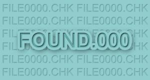 Cara Mengembalikan File CHK di Folder FOUND.000 ke File Aslinya Seperti Semula