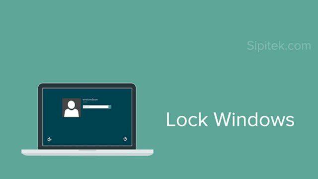 Cara mengunci laptop windows