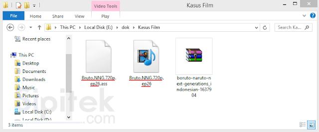 samakan nama file