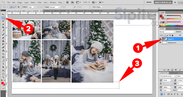 3 Cara Menggabungkan Beberapa Foto Menjadi Satu Dengan Mudah