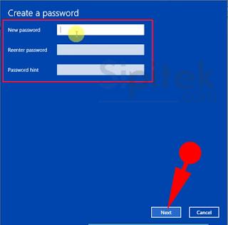 buat password