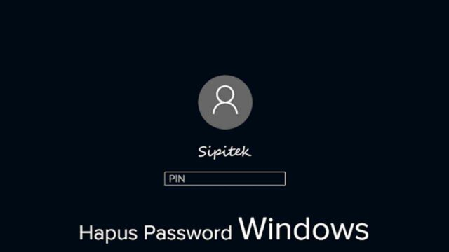 Cara menghilangkan password Windows