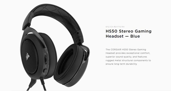 Corsair HS50