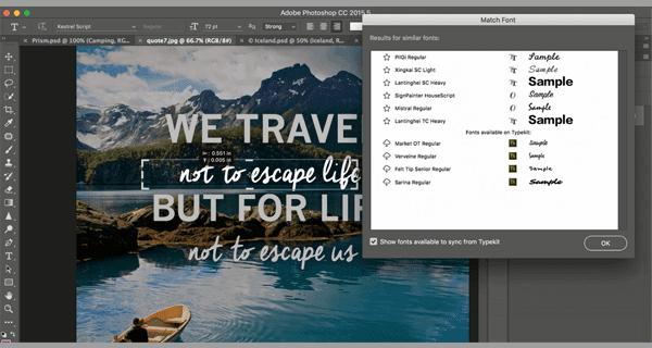 cara mengetahui jenis font dari gambar