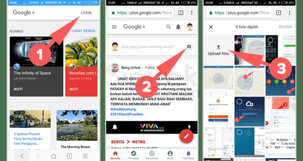 Cara Upload Foto Ke Google Dengan Mudah Melalui Hp Android