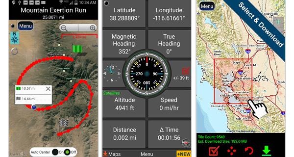 Polaris GVS Navigation