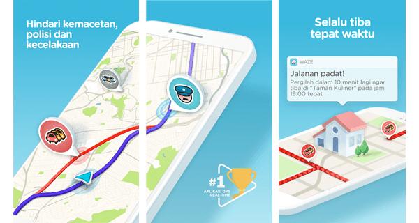 10 Aplikasi Penunjuk Jalan Terbaik Paling Akurat Untuk Android