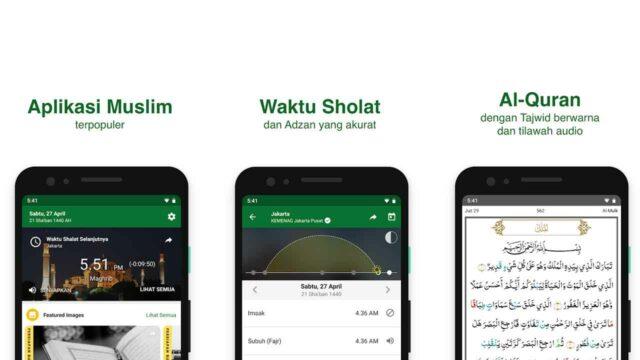 Aplikasi Jadwal Sholat Android