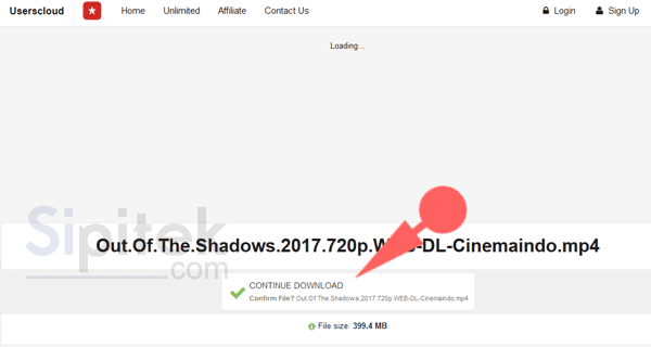 download film di cinemaindo lewat PC