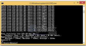 Cara Ping Google di HP Android dan PC Dengan CMD