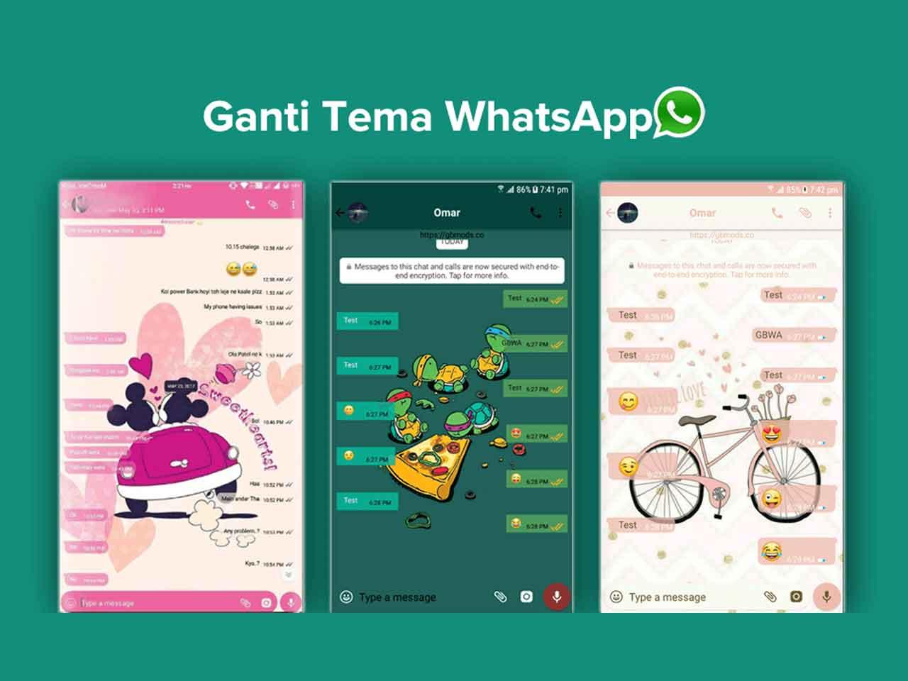 Cara Mengganti Tema WhatsApp dalam 3 Langkah Mudah