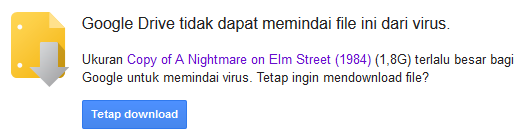 notifikasi pemindai virus google drive