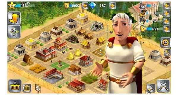 perang kerajaan perang romawi