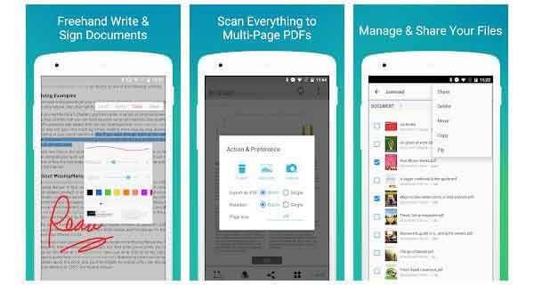 pdf reader scan edit share