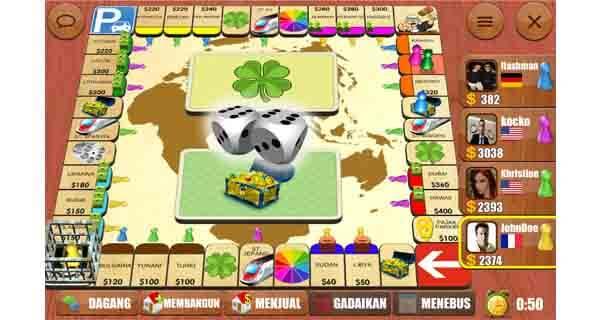 RENTO dice board game