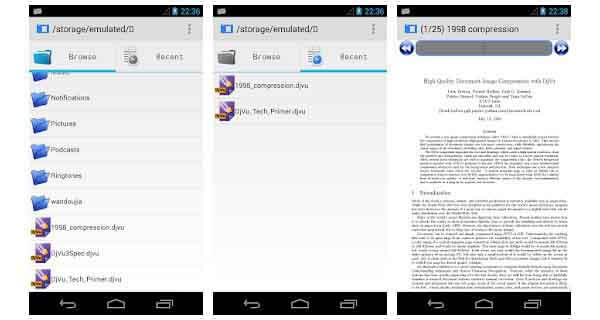andoc pdf djvu reader