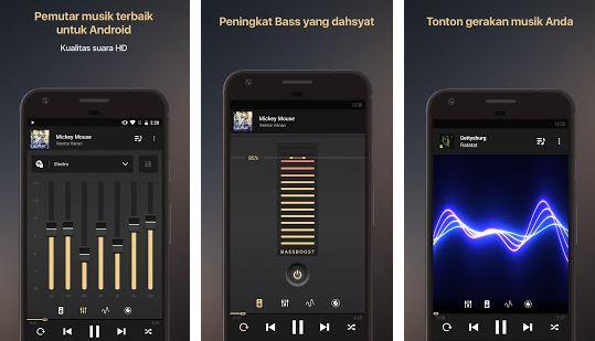 aplikasi pemutar musik mp3 terbaik di android