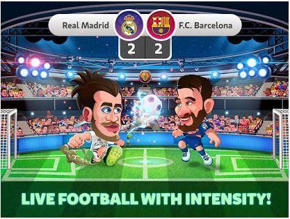 head soccer laliga