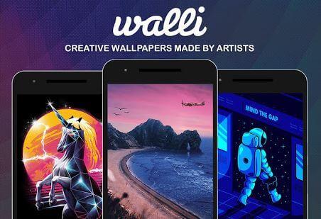 walli aplikasi wallpaper keren