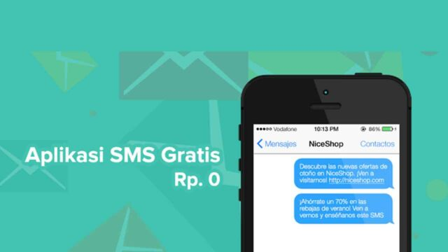 aplikasi sms gratis terbaik di android