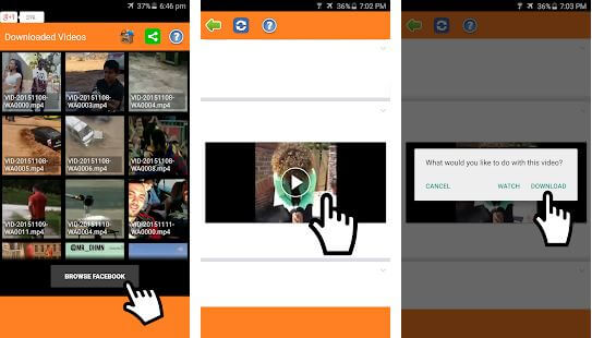 Video Downloader for Facebook Literna Apps