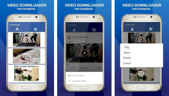 Video Downloader For Facebook SnapTools